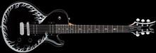 Dean Guitars Tom Maxwell Maxhell - Classic Black w/ Silver Flames
