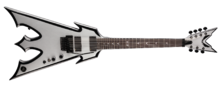 Dean Guitars Trident 7 Wayne Findlay SVBK