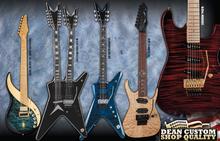 Dean Guitars USA Custom RC7 Quilt
