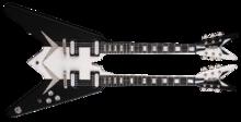 Dean Guitars USA Michael Schenker Standard Doubleneck