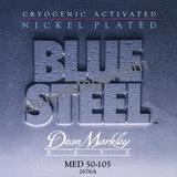Dean Markley Blue Steel NPS Bass - 2676A 50-105 MED Medium