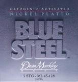 Dean Markley Blue Steel NPS Bass - 2679A 45-128 ML-5 Medium Light 5-String