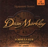 Dean Markley Formula 82/R Acoustic - 2102A 11-52 LT Light