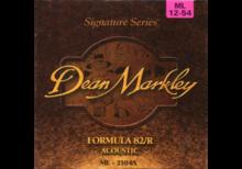 Dean Markley Formula 82/R Acoustic - 2104A 12-54 ML Medium Light