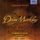 Dean Markley Formula 82/R Acoustic - 2106A 13-56 MED Medium