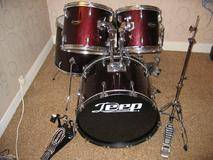 Deep Drums Batterie 5 fûts