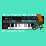 Digital Systemic Emulations DX7 Drums Wavpack (VCR-104)