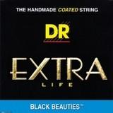 Dr Strings Black Beauties Acoustic BKA-12 Medium 12-54