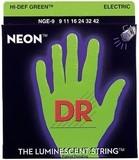 Dr Strings K3 Neon Hi-Def Green Electric NGE-9 Lite 9-42