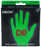 Dr Strings K3 Neon Hi-Def Green Electric NGE7-10 7-String Medium 10-56