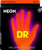 Dr Strings K3 Neon Hi-Def Orange Bass NOB-40 Lite 40-100