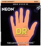 Dr Strings K3 Neon Hi-Def Orange Bass NOB-45 Medium 45-105