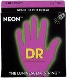 Dr Strings K3 Neon Hi-Def Pink Electric NPE-10 Medium 10-46