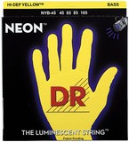Dr Strings K3 Neon Hi-Def Yellow Bass NYB-45 Medium 45-105