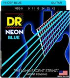 Dr Strings NEON BLUE NBE-9
