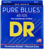 Dr Strings Pure Blues 45/105 Quantum Nickel - Round Core