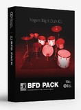 Drumdrops 1970s Rogers Big R Dub Kit - BFD Pack