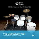 Drumdrops 1970s Rogers Big R Dub Kit - Multi Velocity Pack
