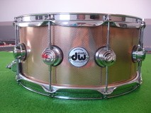 DW Drums colllector bronze 14x6,5 KURLED FINISH