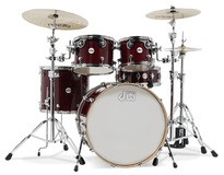 DW Drums Design series - Cherry Stain Lacquer