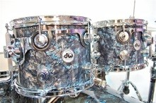 DW Drums finish ply Black Diamond