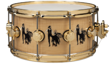 "DW Drums Mick Fleetwood ""Rumours"" Icon"