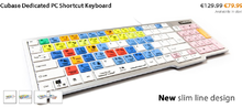 Editors Keys Cubase Dedicated PC Shortcut Keyboard