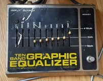 Electro-Harmonix Ten Band Graphic Equalizer
