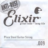 Elixir Strings Anti-Rust Single 13009 .009