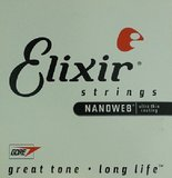 Elixir Strings Nanoweb Acoustic Single 14152 .052