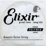 Elixir Strings Polyweb Acoustic Single 13128 .028