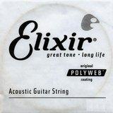 Elixir Strings Polyweb Acoustic Single 13153 .053