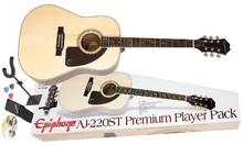 Epiphone AJ-220ST Premium Player Pack