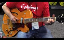 Epiphone Ltd. Ed. John Lee Hooker 100th Anniversary Zephyr