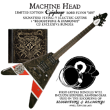 Epiphone Machine Head Bloodstone & Diamonds Flying-V