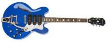 Epiphone Riviera Custom P93 Blue Royale