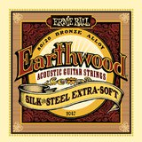 Ernie Ball EarthWood 80/20 Bronze Silk & Steel