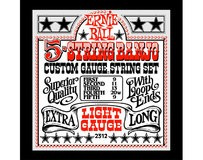 Ernie Ball Stainless Steel Loop End Banjo