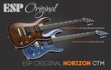 ESP Original Horizon CTM NT - Antique Brown Sunburst