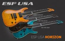 ESP USA Horizon - Amber Sunburst