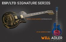 ESP Will Adler Warbird - Distressed Black