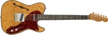 Fender 2018 LTD Artisan Maple Burl Thinline Tele