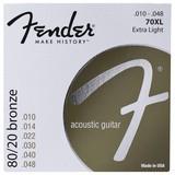 Fender 80/20 Bronze 10-48 Extra Light 70XL