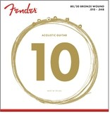 Fender 80/20 Bronze Acoustic 10-50 12-String Light 70-12L
