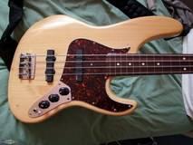 Fender American Standard Jazz Bass Fretless (1990)