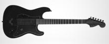 Fender Black Stratocaster