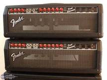 Fender Dual Showman Red Knobs