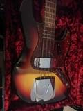 Fender fender custom shop 62 jazz bass journeyman sunburst 2017*
