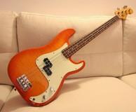 Fender Foto Flame Precision Bass