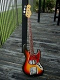 Fender Jazz Bass Ladybird johnson
